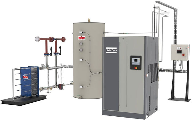 Air Compressor Heat Recovery
