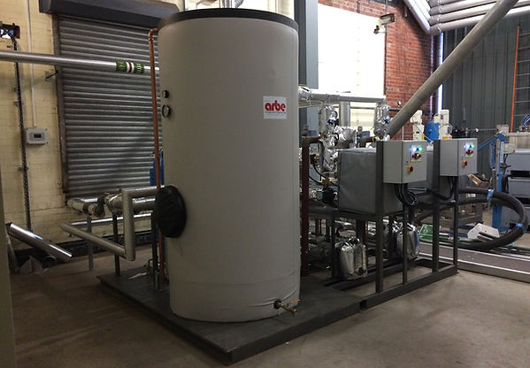 Arbe Hevasteam DHW Plate Heat Exchanger Package For Pharmaceutical Company
