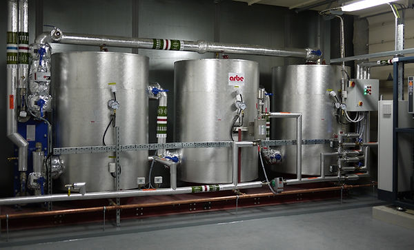 Arbe Heat Recovery Package For Chiller Installation