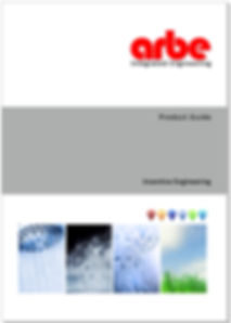 Arbe Brochure Front Page
