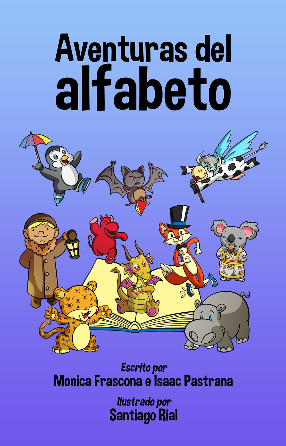 Spanish alphabet book for kids