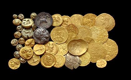 коллекция, золото, gold coins, coin collection