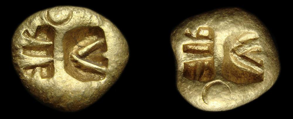 реверс скифской монеты