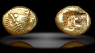 Состав сплава древнейших монет