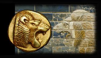 Электровая гекта, лев ворота Иштар
