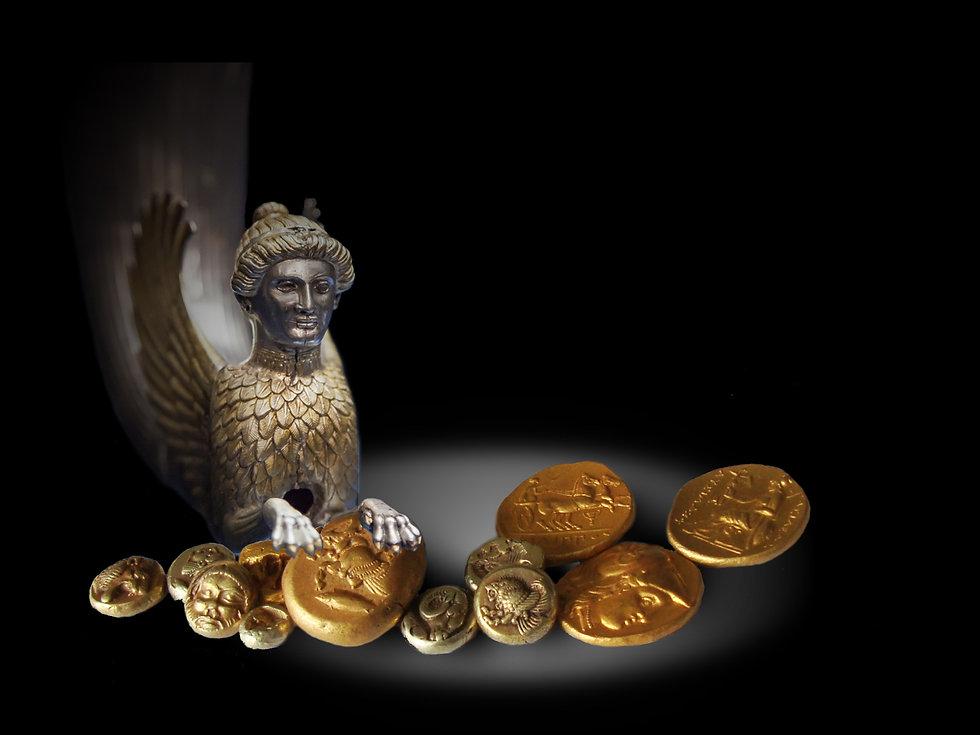 Золотая коллекция, античная золотая монета