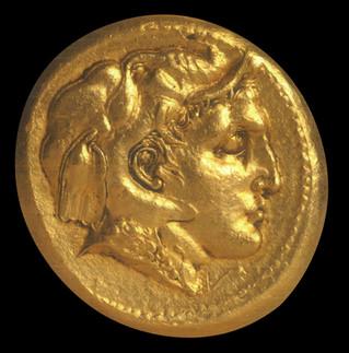 Золотой медальон Александра Великого