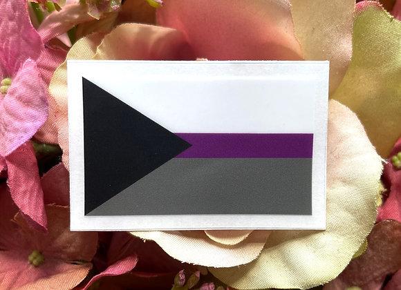Demisexual Flag sticker   LGBTQ Sticker