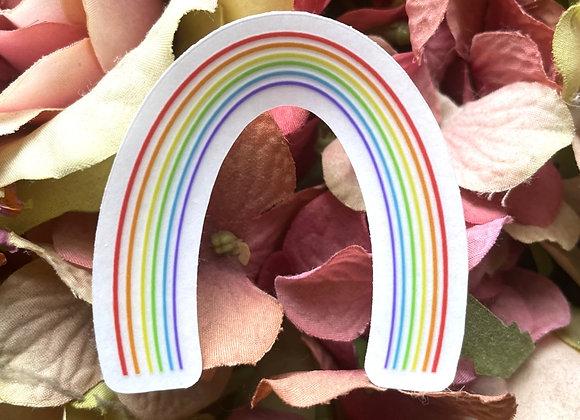 Rainbow sticker | LGBTQ Sticker