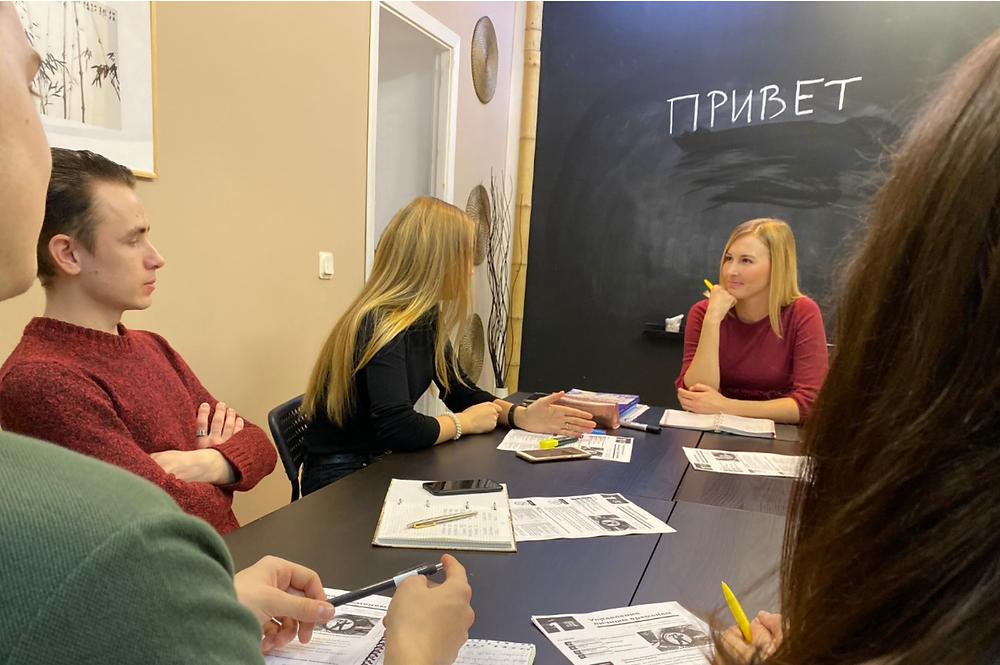 Russian language practice: ask and answer. / Говорим по-русски: спрашиваем и отвечаем.