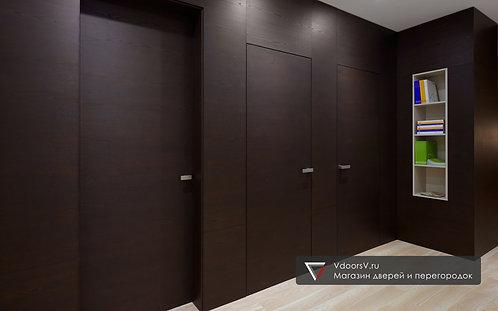 Дверь скрытого монтажа шпонированная серия.