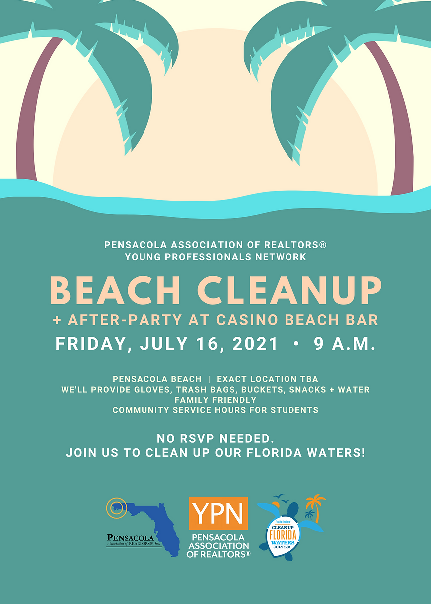 YPN Beach Cleanup - Flyer - July 2021.png