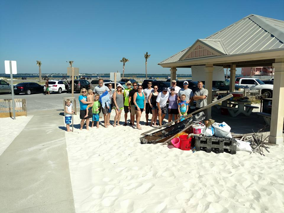 YPN Beach Clean-Up 1