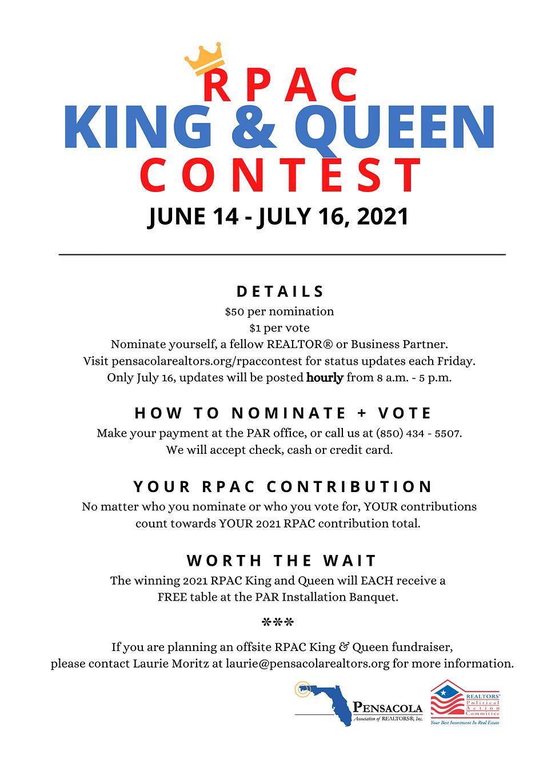 RPAC King & Queen - Flyer - June 2021.pn