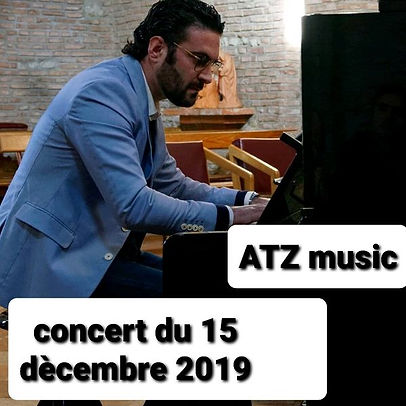Images concert de fin d'annés ATZ Music