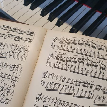 Le déchiffrage au piano
