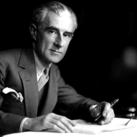 Portrait du pianiste Maurice Ravel