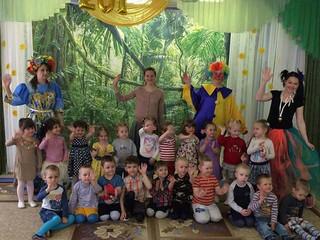 День защиты детей для младших групп