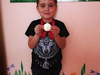 Поздравляем Севостьянова Даниила!