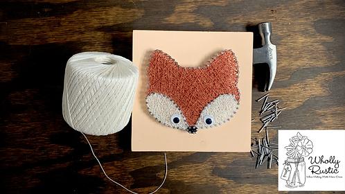 Fox String Art Kit!