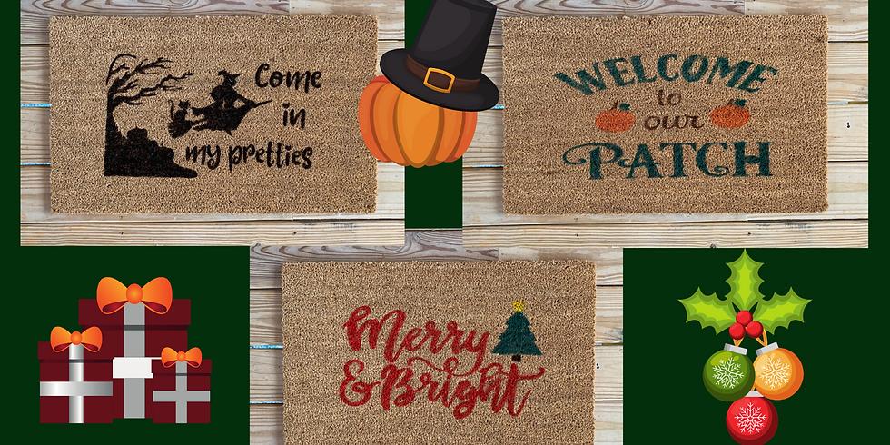 Holiday Doormats!