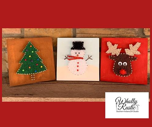 Christmas String Art Kit!