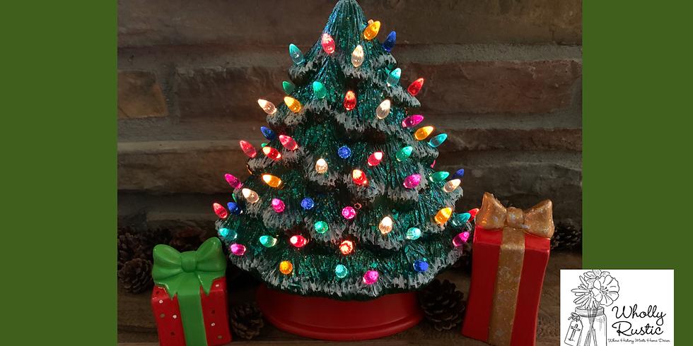 Christmas Ceramic Painting!