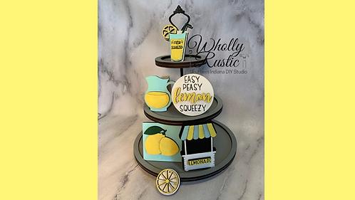Lemon Tiered Tray Kit!
