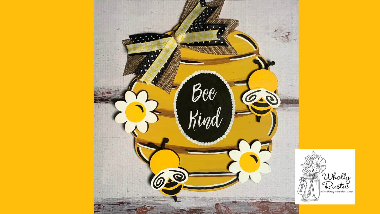 Bee Kind Door Hanger!