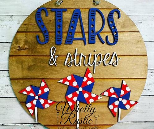 Stars & Stripes Door Hanger Kit!