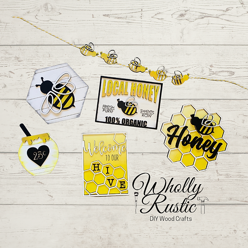 Bee Tiered Tray Kit!