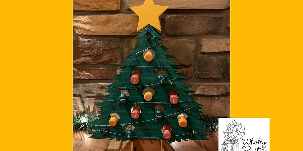 Wine Advent Tree Painting!