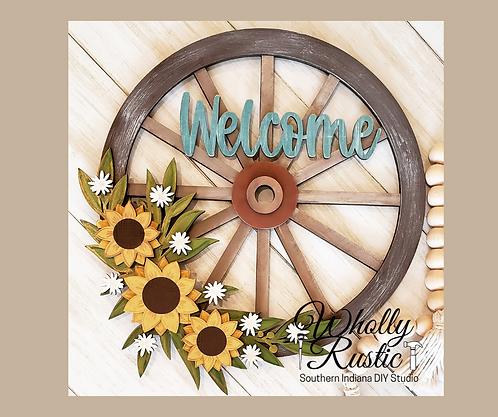 Wagon Wheel Door Hanger Kit!