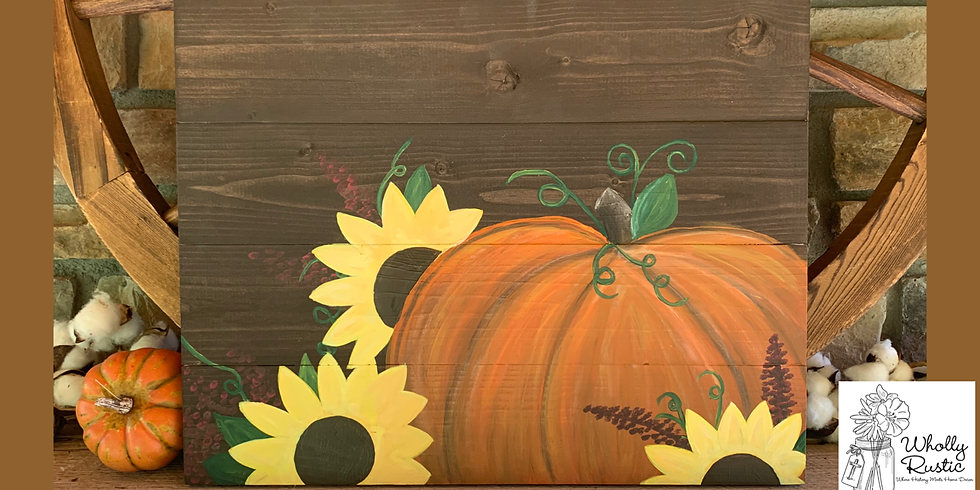 Fall Pallet Painting @ First Miracle Winery!