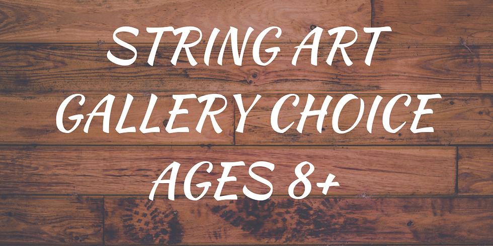 Family String Art Class!