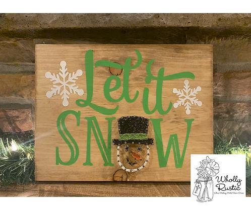 Let it Snow Paint & String Kit!