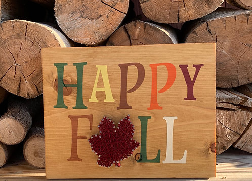 Happy Fall Paint & String!