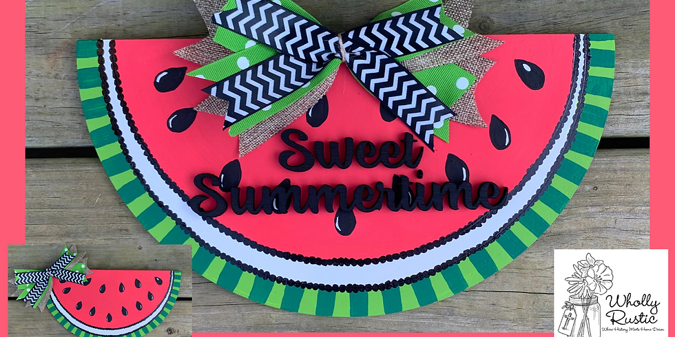 Watermelon Door Hanger!