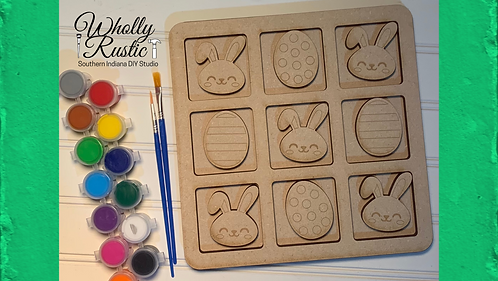 Easter Tic-Tac-Toe Paint Kit!