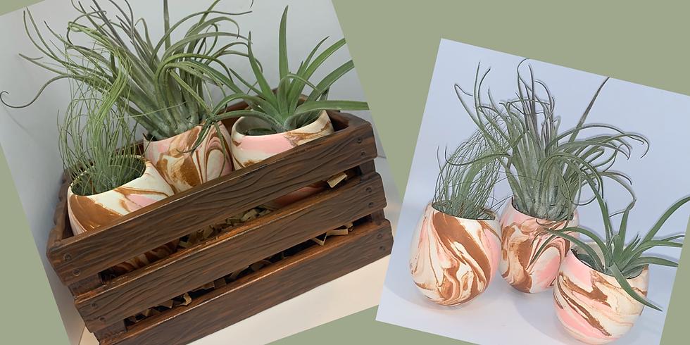 Ceramic Planter Painting!