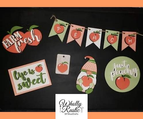 Peach Tiered Tray Kit!