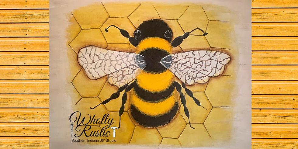 ONLINE Bee Paint Class!