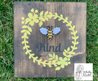 Bee Kind Paint & String!