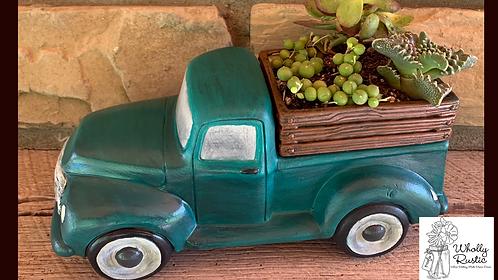 Ceramic Truck Planter!