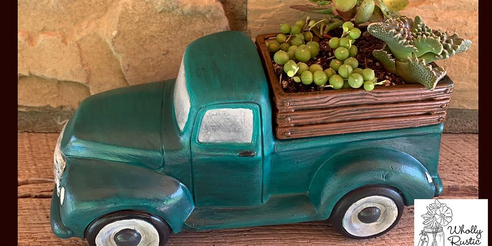 Ceramics & Succulents @ Forest Edge Winery!