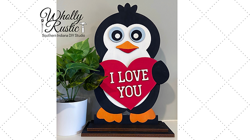 Valentine Penguin Paint Kit!