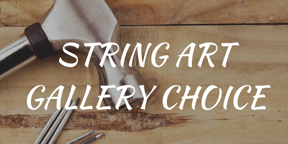 String Art Class! (Ages 15+)