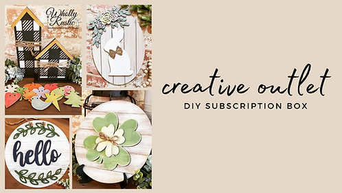 Creative Outlet Subscription Box!