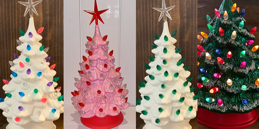 Choose your Holiday Ceramic Tree!