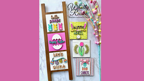 Spring Interchangeable Ladder Kit!